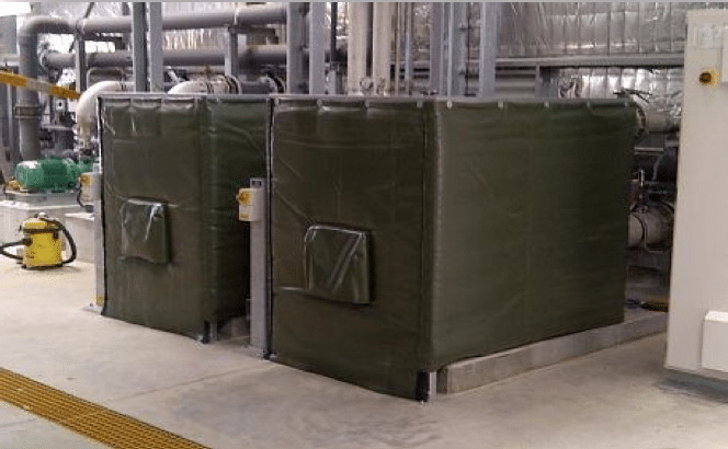 Acoustic Covers On Electrical Pump Motors