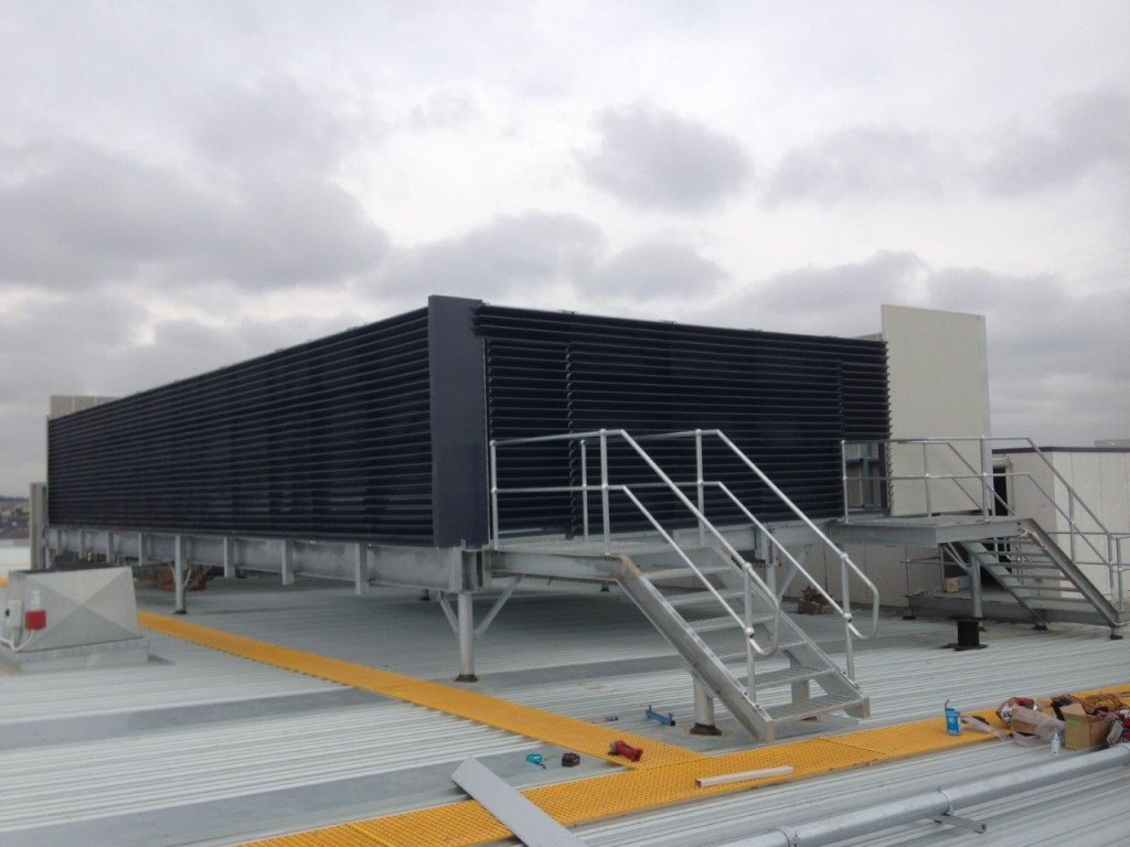 Acoustic Screens For Rooftop Chillers Plant Flexshield